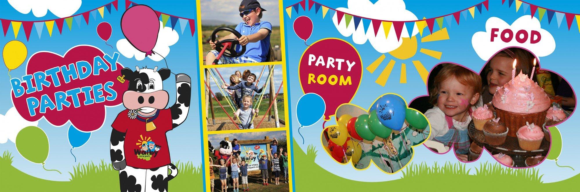 Birthday Parties Walby Farm Park